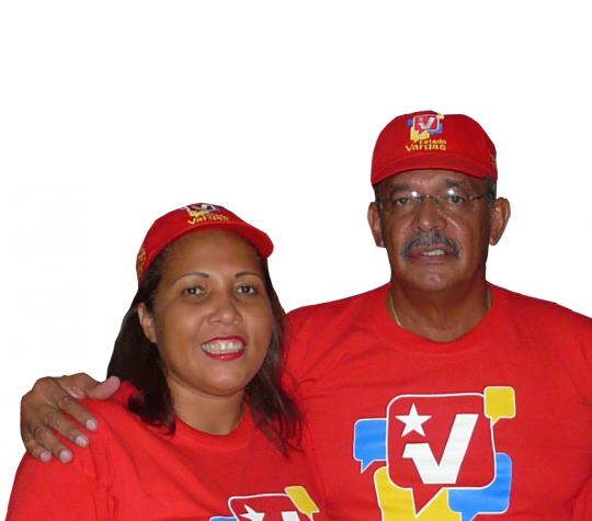 Diputada electa a la Asamblea Nacional por el Partido Socialista Unido de Venezuela, con el Gobernador del Estado Vargas Jorge Luis García Carneiro. Poniendo Corazón al Estado Vargas.