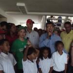 Inauguración de escuela en Ciudad Caribia